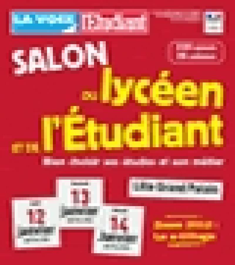 Salon du lyc en et de l 39 tudiant fasthotel 0320876464 for Salon etudiant calais