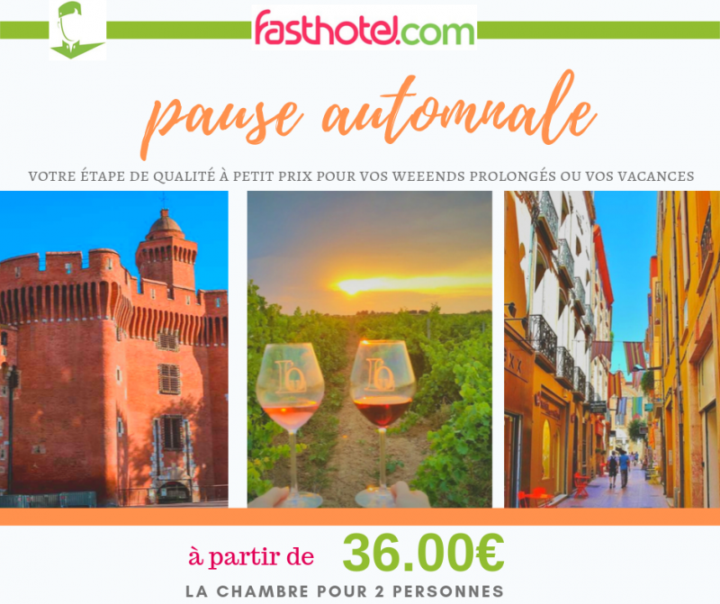 promo weekends automne 2019
