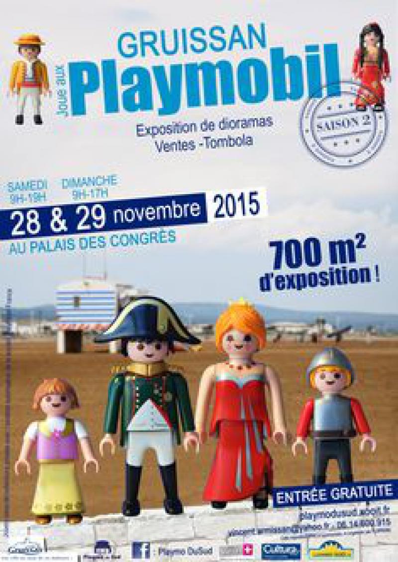 Salon du playmobil gruissan for Salon du playmobile le mans
