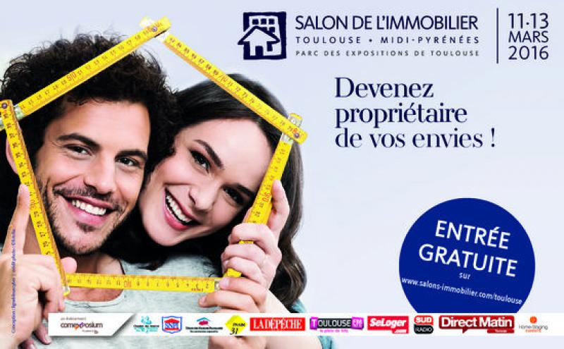 Salon de l 39 immobilier for Salon de l immobilier toulouse