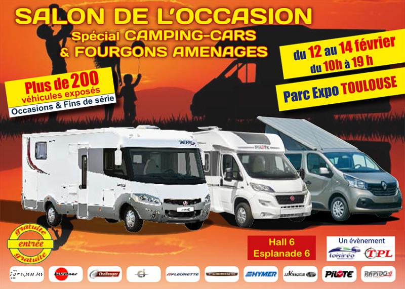 salon du camping car toulouse. Black Bedroom Furniture Sets. Home Design Ideas